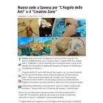 """Nuova sede a Savona per """"L'Angolo delle Arti"""" e il """"Creative Zone"""" - IVG.it"""